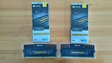 Corsair Vengeance 16GB RAM (2 x 8GB) DDR3 1600Mhz (CMZ8GX3M1A1600C10) Like New!