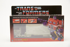 TRANSFORMERS G1 Clear  optimus prime Brand new  MISB