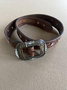 Tony Lama Texas Crystal Belt