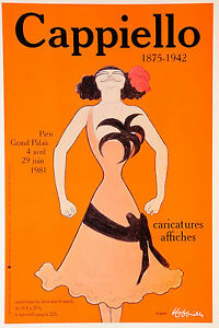 "24"" Framed Canvas Print Vintage Art Painting cappiello orange"