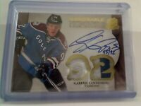 Upper Deck The Cup Honorable Numbers Gabriel Landeskog Colorado Avalanche 45/92