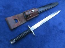 COLLECTIBLE VINTAGE ORIGINAL SWISS M1957 BAYONET AND SHEATH WITH FROG