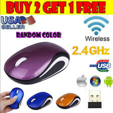 Mini 2.4GHz Wireless Gaming Mouse Mice & USB Receiver For PC Laptop Desktop US