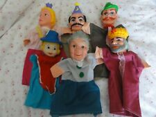 VINTAGE HAND PUPPETS  SIX OFF