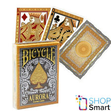 BICYCLE AURORA PLAYING CARDS PREMIUM GOLD SILVER DECK POKER MAGIC TRICKS NEW