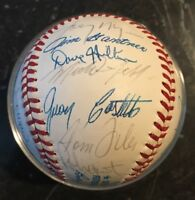 1988 MILWAUKEE BREWERS TEAM AUTOGRAPHED SIGNED AUTO BASEBALL ROBIN YOUNT 25 SIGS