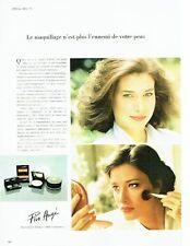 PUBLICITE ADVERTISING 017  1979  maquillage cosmétiques Pier Augé