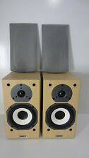 Pair Tannoy Mercury MX1 Speaker System, Light Maple