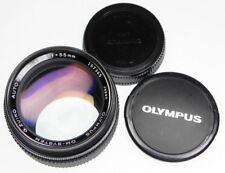 Olympus OM 55mm f1.2  #157365 ........... Minty