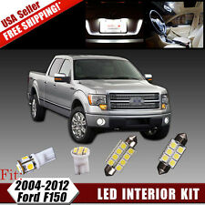 16x White LED Dome License Lights Interior Package Kit For 2004-2012 Ford F150