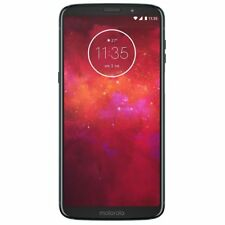 Motorola - Moto Z3 Play with 64GB Memory Cell Phone (Unlocked) XT1929-4