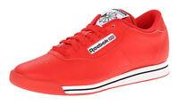 Reebok Classic Princess Techy Red, White, Black Womens Running Tennis Shoes