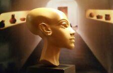 Kopf der MERITATON, 18. Dynastie, gesockelt, massiv, 27 cm Höhe - ca. 1340 v.Chr