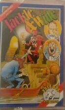 Jackle & Wide (Bulldog 1987) Commodore c64 (tape, box, manual) 100% ok