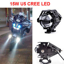 U5 CREE LED Headlight Bright Spot Light For Royal Enfield Bullet (Black)