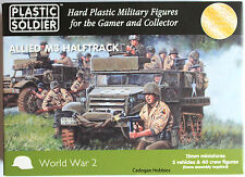 Plastic Soldier Company (PSC) 15mm Allied M3 Half Track, Suit Flames of War