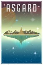 Asgard Fantasy Travel Comic Book Superhero Planet Inch Poster 24x36 inch