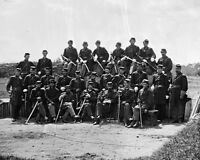 Soldiers of the 6th Vermont Infantry at Camp Griffin New 8x10 Civil War Photo