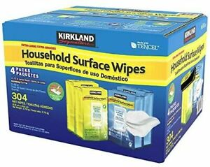 Kirkland Signature Household Surface Wipes, 304 Pack