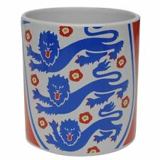 England Three Lions Giant Crest Mug - Latest Design (Red)