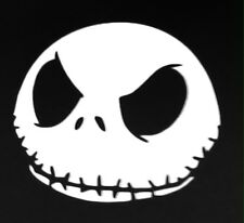 Jack Skeleton Face Vinyl Decal #2