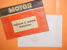 1967 1968 1969 1970 FORD FALCON FUTURA SPORT COUPE WAGON VACUUM+WIRING DIAGRAMS