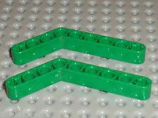 Rare LEGO TECHNIC Green beam liftarm bent 6629 / set 8479 8446