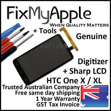 HTC One X XL Genuine Glass Touch Screen LCD Digitizer Assembly Replacement Tools