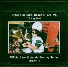 MOUNTAIN: Live at The Brandwine Club 1981  Neu