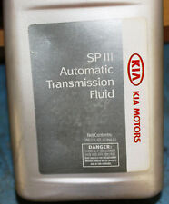 1 Quart Auto Transmission Oil Fluid Genuine SPIII ATF for KIA Optima Spectra Rio