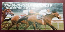 Friday, July 4, 1980 SUBURBAN Program - WINTER'S TALE - BELMONT PARK