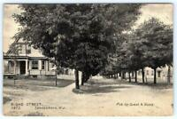 1910's ERA SWEDESBORO NEW JERSEY*NJ*BROAD STREET*DIRT ROAD*PUBLISHED BY GUEST