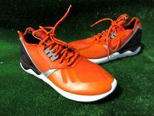 ADIDAS HOMBRE CORREDOR DE Tubular Zapatillas Para Correr Naranja Talla 11.5