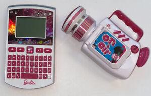 Barbie Electronic Lot Talking Video Camera & Oregon Scientific Pocket Learner