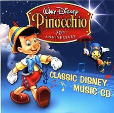 Walt Disney Pinocchio 70th Anniversary Classic Disney Music CD D000307602