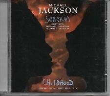 MICHAEL JACKSON Scream promo cd single