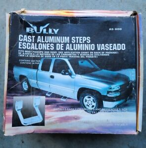 Bully AS-600 Polished Aluminum 2 Pieces (1 Pair) Truck SUV Side Steps