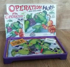 Operation Hulk. Family Game. MB Games. Marvel Superhero Squad. Skill Game.