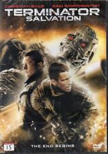 Terminator Salvation - DVD - Region 2 - Nordic - New and Sealed