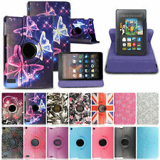 """Case Cover For Amazon Kindle Fire 7"""" 10"""" 9th Generation 2019 Leather Smart Flip"""