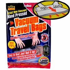 JUMBO VACUUM BAG TRAVEL ROLL UP LARGE  SELECT 1-24 SUITCASE STORAGE