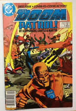 DC Doom Patrol #1 1987 comic book FN+ wraparound cover