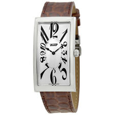 Tissot Heritage Silver Dial Mens Leather Watch T117.509.16.032.00
