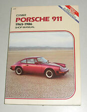 Reparaturanleitung Porsche 911 Urmodell + G-Modell, Baujahre 1965 - 1986