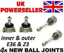 4 x BALL JOINTS BMW E36 316 318 320 325 328 inner and outer saloon coupe touring