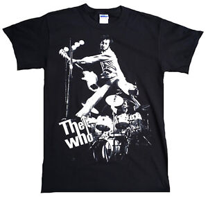 Rare Unworn Official THE WHO Flying High Concert Live Band Rock Star T-Shirt g.S