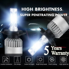 H4 9003 HB2 72W 16000LM LED Conversion Headlight KIT Hi/Low Beam 6000K White