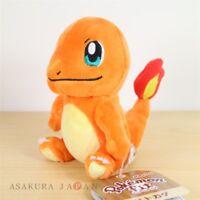 Pokemon Center Original Pokemon fit Mini Plush #4 Charmander doll Toy Japan
