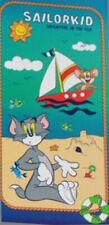 Serviette de Plage Bébé Bassetti 76x152 cm Sailorkid 100% Coton Tom et Jerry