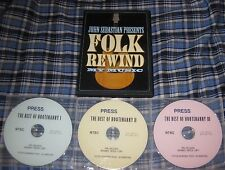 JOHN SEBASTIAN: FOLK REWIND DVD & BEST OF HOOTENANNY = 4 DVDs!!!